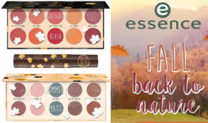 Autumn forest in the collection of Essence Back To Nature Fall 2018